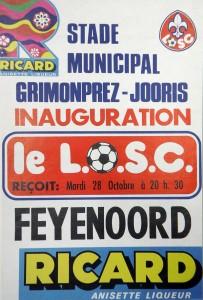 affiche inauguration stade grimonprez-jooris