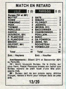 Lille-PSG 1986