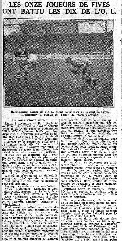 le Matin 6 novembre 1933