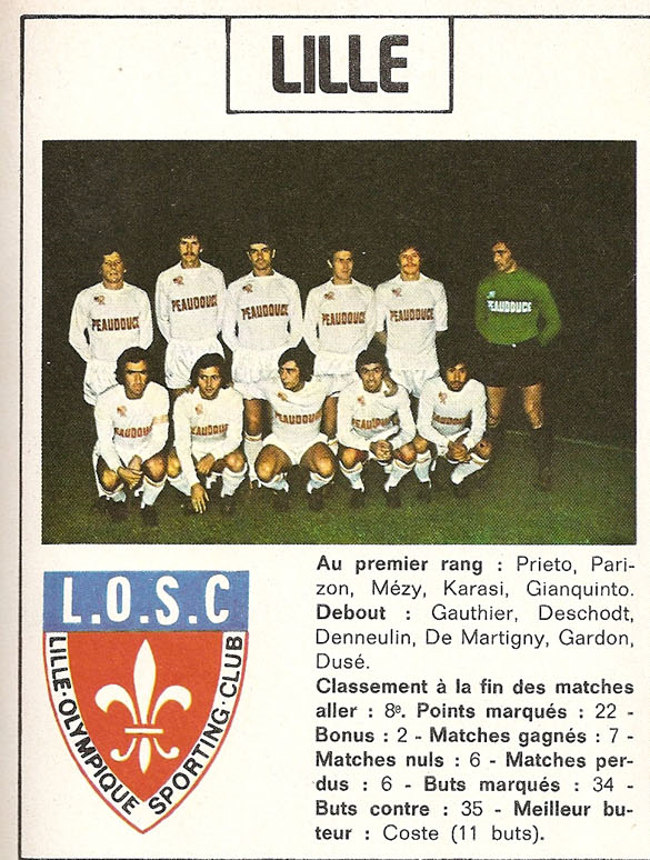 Lille 75-76