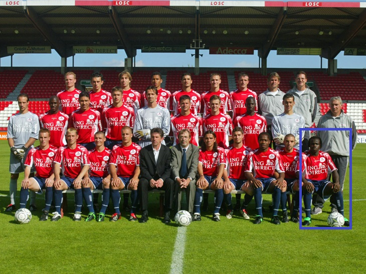 - Lille - 17.07.2002 - photo officielle et portraits - LOSC -