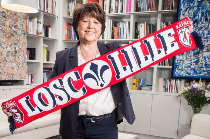 Martine AUBRY-LOSC-Le Monde