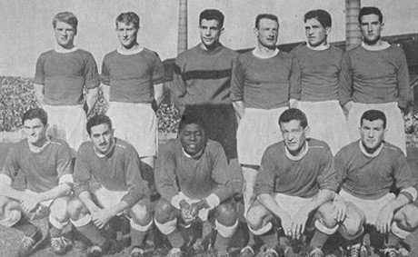 AS saint-etienne 1957-1958