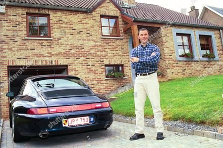 34 Year Old Jean-marc Bosman At Home In Vilers-l'eveque Near Liege In Belgium.