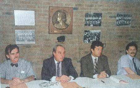 Besson adjoint aux sports, Amyot, Santini, Gardon