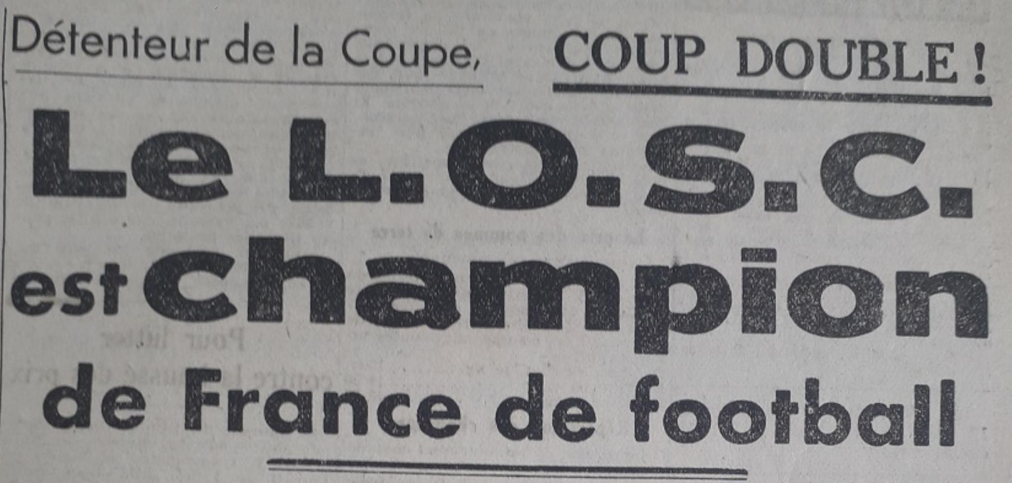 1946 LOSC Champion